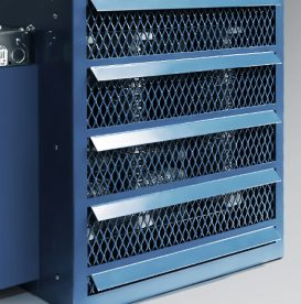 Industrial unit heaters